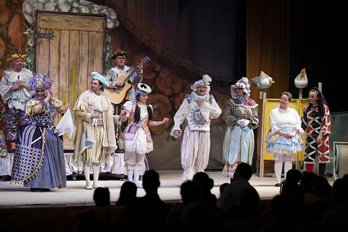Ca sarea-n bucate basm Teatrul Luceafărul Iași