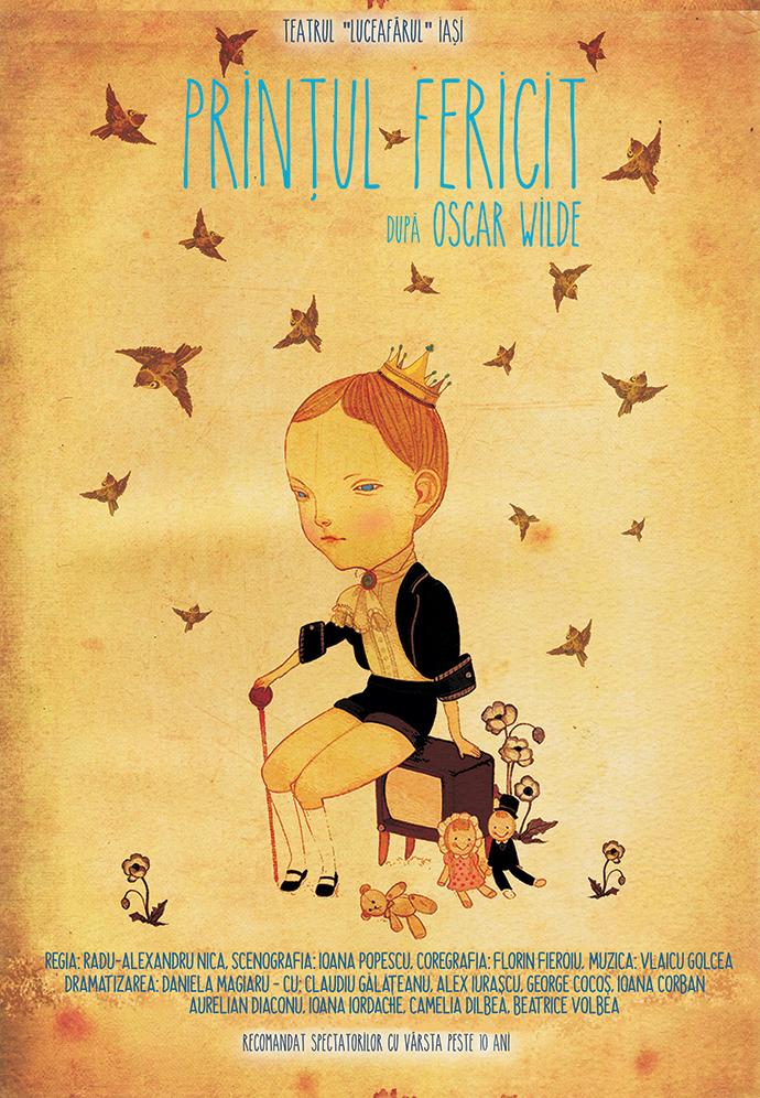 Printul fericit Oscar Wilde Teatrul Luceafărul Iași