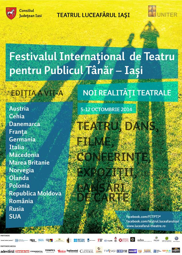 FITPT, ediţia a VII-a, 5-12 octombrie 2014 • Noi realităţi teatrale