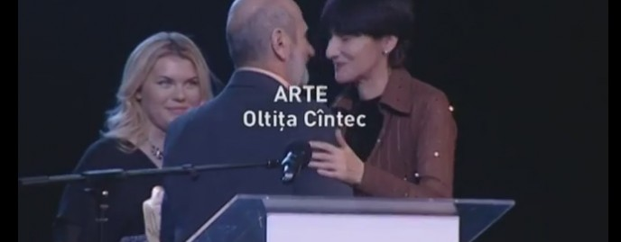 Premiul Oamenii timpului, secțiunea Arte, pentru Oltița Cîntec