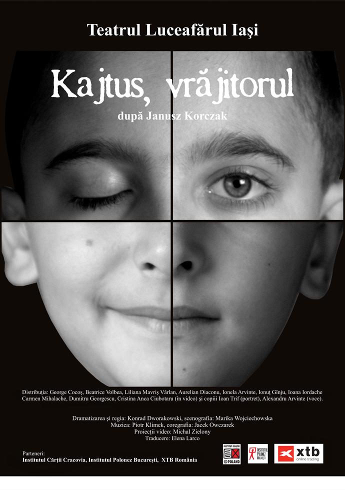 """Premiul pentru regie obținut de """"Kajtus, vrăjitorul"""" la Festivalului Internațional de Animație Spectacole de Colecție București"""
