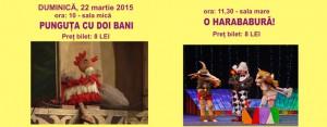 Programul săptămânii 17-22 martie 2015