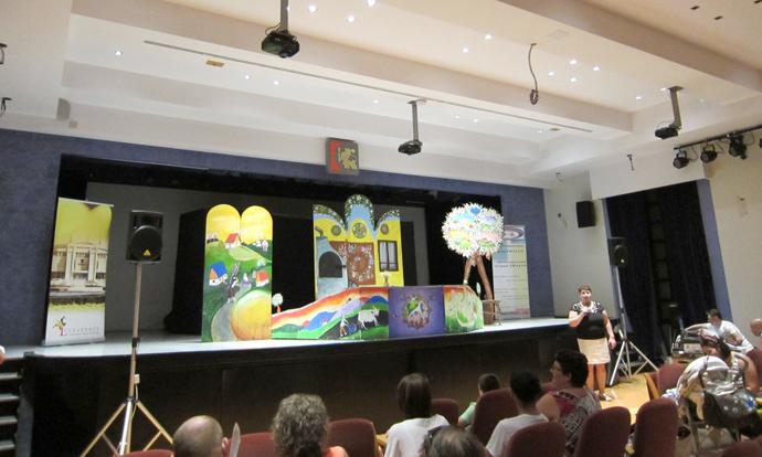 Un nou popas la Cordoba, la Salon de Actos de la Diputacion