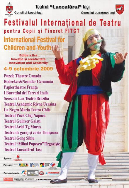 """FITCT, ediţia a II-a, 4-9 octombrie 2009, """"Inovaţie şi creativitate"""""""