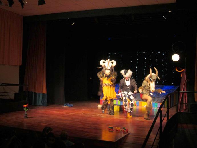 Patru reprezentații la Festivalul Imaginaria de la Huesca/Binefar, Spania