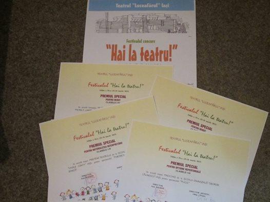 """1000 de elevi artiști și coordonatori, la cea de-a X-a ediție a Festivalului de teatru școlar """"Hai la teatru!"""""""