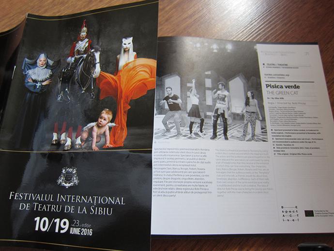 Pisica verde, unul dintre cele 459 de spectacole din 70 de ţări de la Festivalul Internațional de Teatru Sibiu!