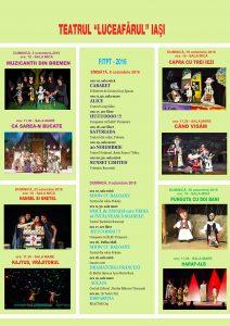 Spectacolele lunii octombrie 2016 pentru care se pot cumpăra online bilete cu locuri