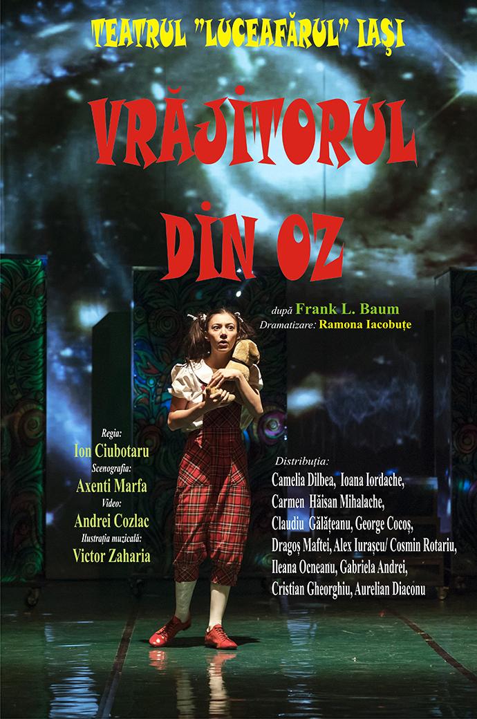 Vrăjitorul din Oz după Frank Baum Dramatizare: Ramona Iacobuțe