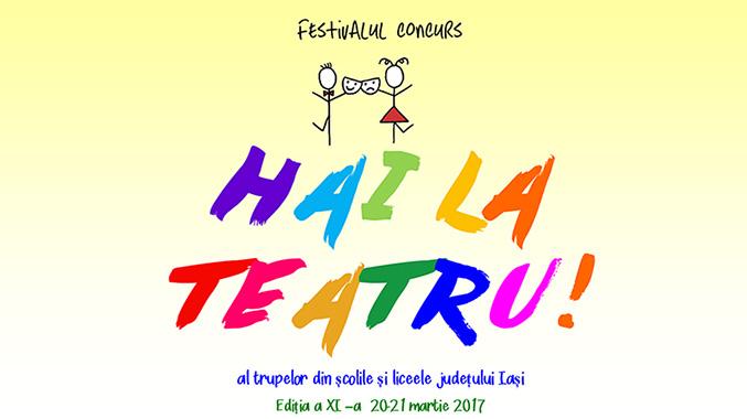 """Peste 700 de elevi artiști se întrec în 2200 de minute de spectacol, la Festivalul """"Hai la teatru""""!"""