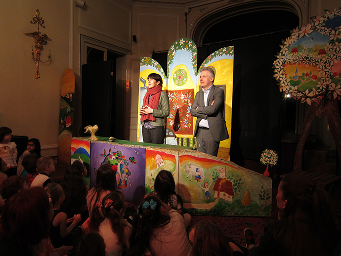 """Teatrul """"Luceafărul"""" a jucat la Londra"""
