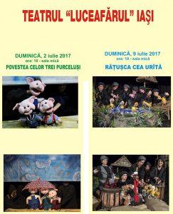 Spectacolele lunii iulie 2017 pentru care se pot cumpăra online bilete cu locuri