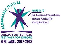 """Festivalul Internaţional de Teatru pentru Publicul Tînăr Iaşi (FITPTI), laureat ca """"festival remarcabil"""""""