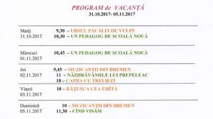"""Program de spectacole pentru vacanță, la """"Luceafărul"""""""