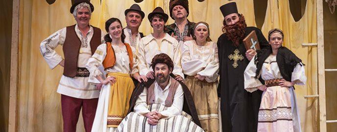 Teatrul Luceafarul Iași premieră spectacol copii Amintiri din copilărie Ion Creangă