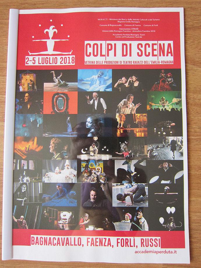 Teatrul Luceafărul joacă la Festivalul Colpi din Scena Italia