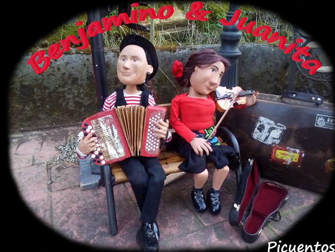 PICUENTOS Spania, Franța-Benjamino și Juanita