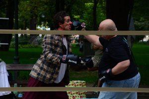 Cafeneaua veche: Katastrofa Clown Italia, Katastrofa Show (pentru prima oară în România, exclusiv la Iași)