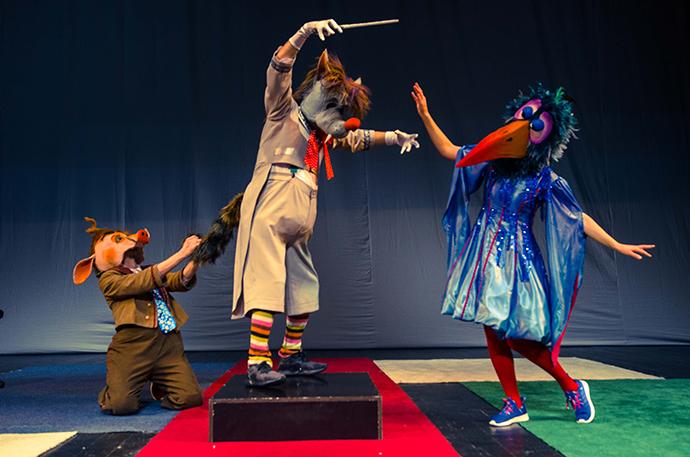 Teatrul Luceafarul Iași ste un spectacol nonverbal, o fantezie muzical-coregrafică pentru toate vârstele