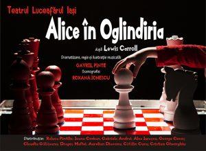 Teatrului Luceafărul din Iași Alice în Oglindiria
