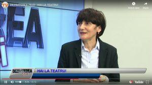 Oltița CÎNTEC - Director artistic Teatrul Luceafărul