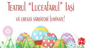 """Teatrul """"Luceafărul"""" Iași vă urează sărbători luminate!"""