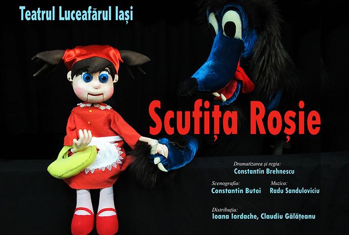 SCUFIȚA ROȘIE Teatrul Luceafărul Iași