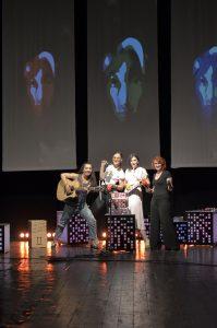 Un spectacol pus la cale de trupa Fără zahăr, pe scena de la Luceafărul!