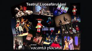 Teatrul Luceafarul Iasi. Vacanță plăcută!