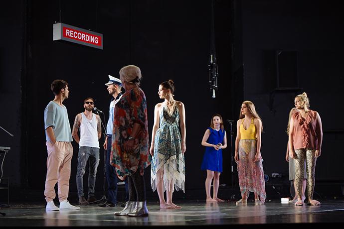 Teatrul Tineretului Piatra Neamț SUB FIECARE PAS E O MINĂ NEEXPLODATĂ DINTR-UN RĂZBOI NETERMINAT CU TINE