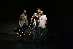 Asociația Art No More București Partener: Centrul de Teatru Educațional Replika Cocoțat pe schele