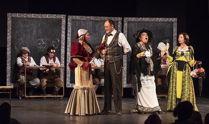 Teatrul Luceafărul joacă la Suceava și la Botoșani