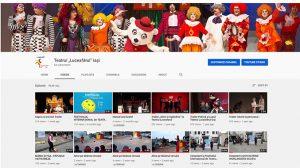 Teatrul Luceafărul, suporturi video pentru activități creative și spectacole online