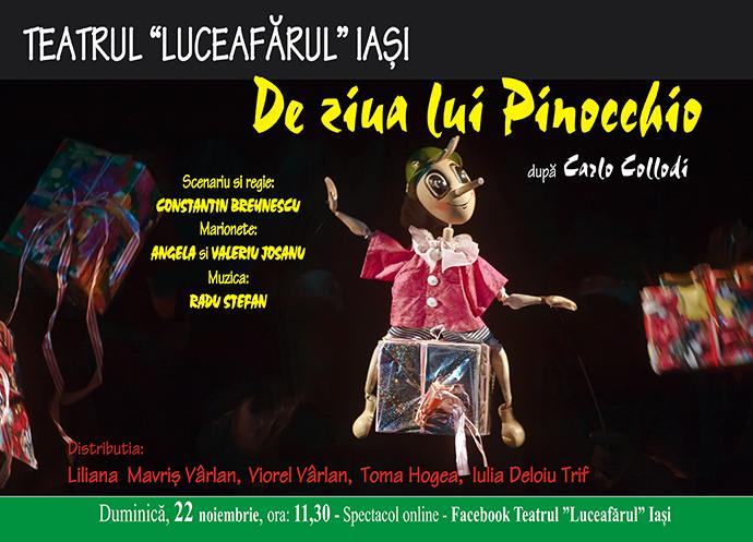 De ziua lui Pinocchio - Spectacol online gratuit