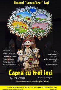 Capra cu trei iezi dramatizare Ion Agachidupă Ion Creangă