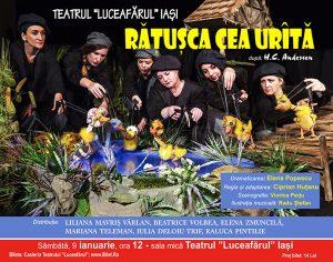 RĂȚUȘCA CEA URÎTĂ Dramatizare: Elena Popescu
