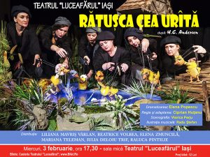 RĂȚUȘCA CEA URÂTĂ Dramatizare: Elena Popescu