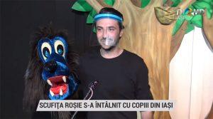 TVR Iași • Scufița Roșie s-a întâlnit cu copiii din Iași