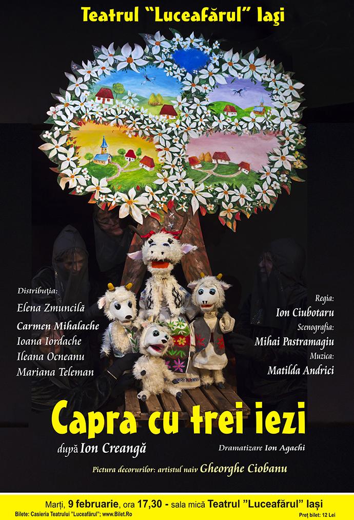 CAPRA CU TREI IEZI dramatizare Ion Agachi după Ion Creangă
