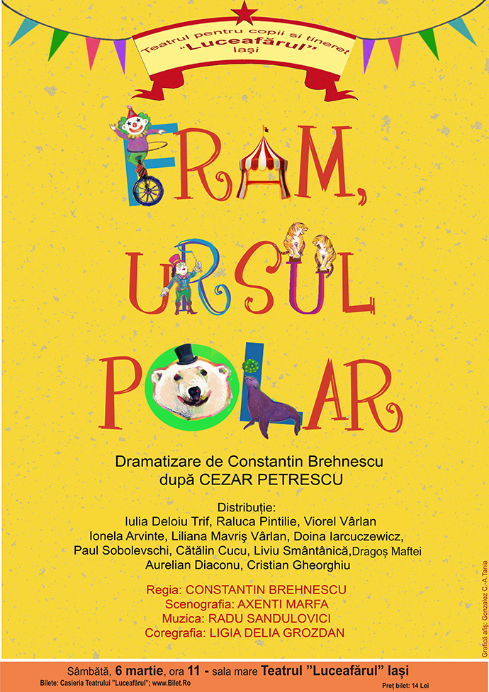 FRAM, URSUL POLAR după Cezar Petrescu