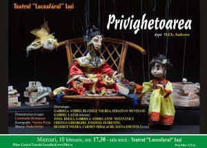 PRIVIGHETOAREA după Hans Christian Andersen Dramatizarea şi regia: Constantin Brehnescu