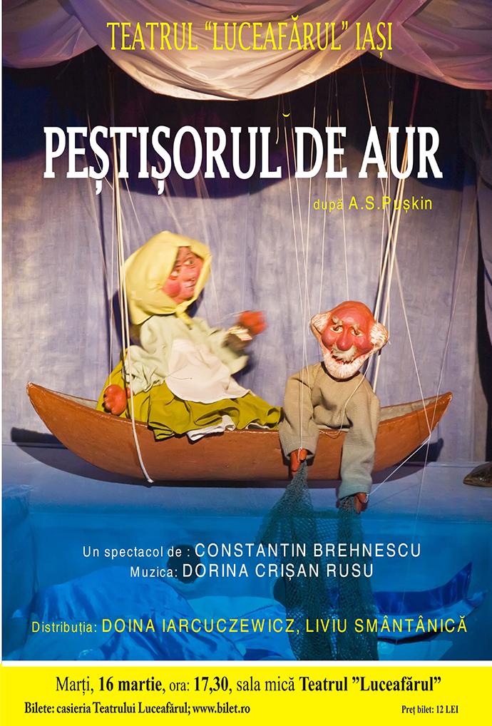 PEȘTIȘORUL DE AUR după A.S. Puskin