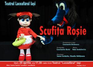SCUFIȚA ROȘIE Dramatizare și regie: Constantin Brehnescu