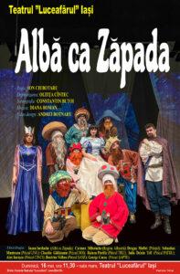 ALBĂ CA ZĂPADA Dramatizare: OLTIȚA CÎNTEC