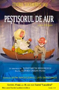 PEȘTIȘORUL DE AUR după A.S. Puskin Regia şi scenografia: Constantin Brehnescu