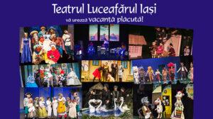 """Teatrul """"Luceafărul"""" Iași vă urează vacanță plăcută"""
