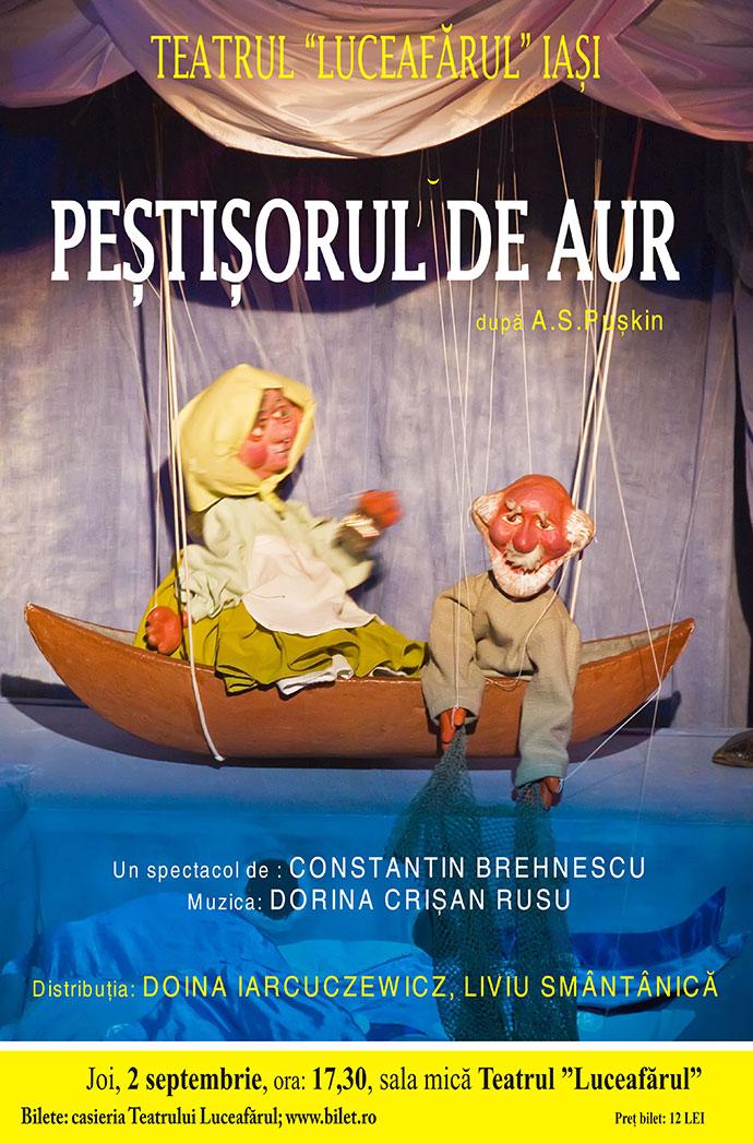 Peştişorul de aur după A.S. Puskin Regia şi scenografia: Constantin Brehnescu