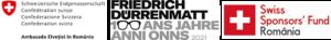 """Lansare de carte – Friedrich Dürrenmatt """"Romulus cel Mare"""" și """"Conversație nocturnă cu un om demn de dispreț"""""""